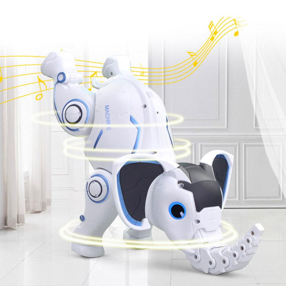 Wireless Remote Control Elephant Robot Interactive Children Toy Singing Dancing  Elephant Robot Toy Early Education Toy For Kids