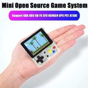 Мини Ретро портативная игровая консоль, плеер 4,3 дюйма для детей, поддержка GBA GBC GB FC SFC NEOGEO CPS PS1 ATARI Arcade Video System