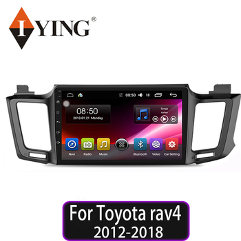 IYING 10.1Android 10.0 Car Radio For Toyota rav4 2012 2013 2014 2015 2016 2017 2018 Car Multimedia Playe Stereo DSP QLED 2din image