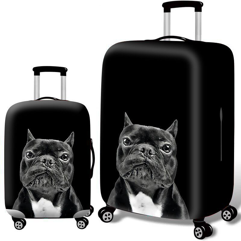 Animal Pattern Thicken Elasticity Luggage Covers Trolley Suitcase Protective Cover For 18-32 Inch Baggage Case Travel Accessorie