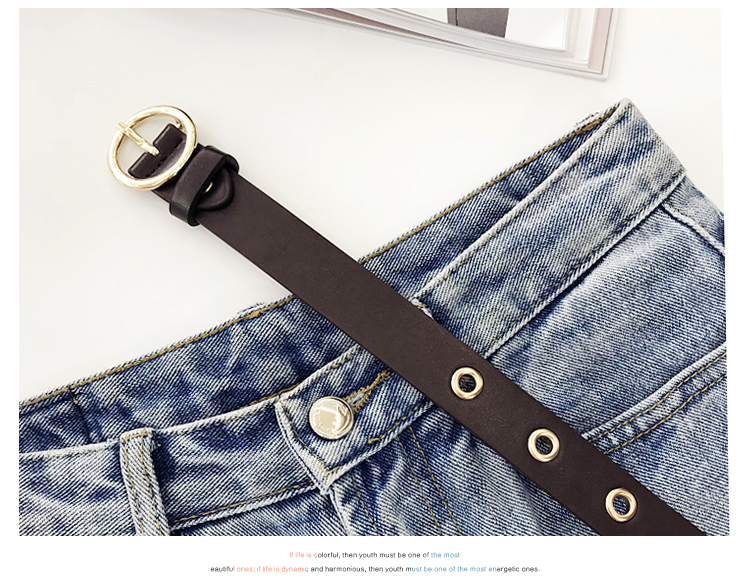H25ebf6ee8d594a368118659573e3f6e03 - NO.ONEPAUL Genuine leather women belt high quality fashion casual alloy round buckle with ladies trend jeans the women for belt