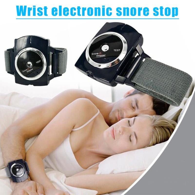 Pulsera antirronquidos con conexión para dormir, dispositivo de pulsera antironquidos, reloj Biosenseor, ayuda contra ronquidos, protección nocturna para dormir