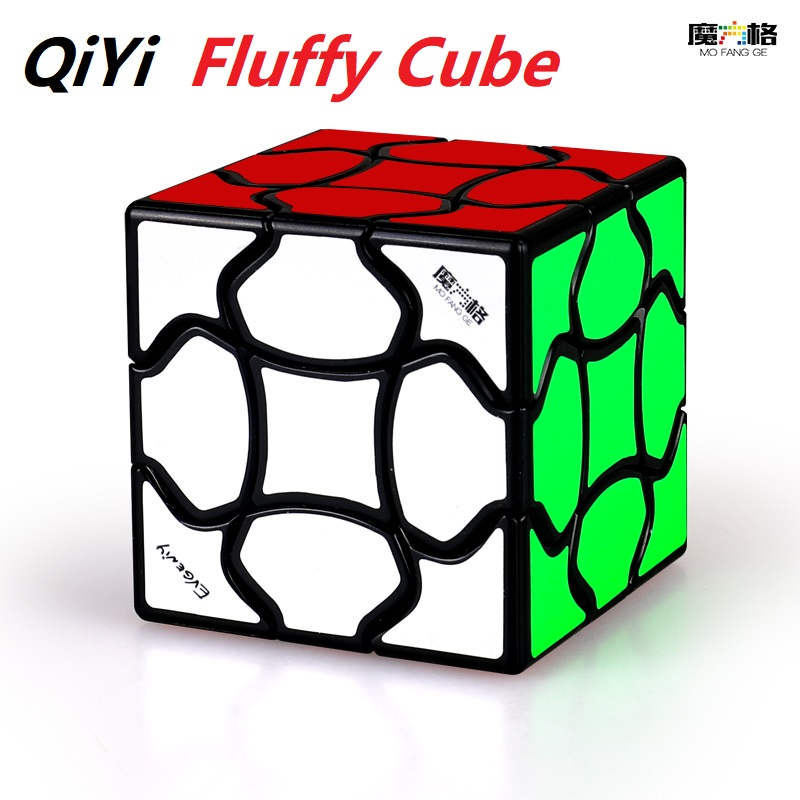 Newest QIYI MOFANGGE Fluffy Cube 3x3 Magic Cube Non Magnetic Puzzle 3x3x3 Cubo Magico Educational Toys Gift For Kids Children