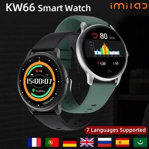 IMILAB глобальная версия KW66 Смарт часы женские Смарт часы фитнес трекер водонепроницаемые Смарт часы управление музыкой для iOS Android|Смарт-часы|   | АлиЭкспресс