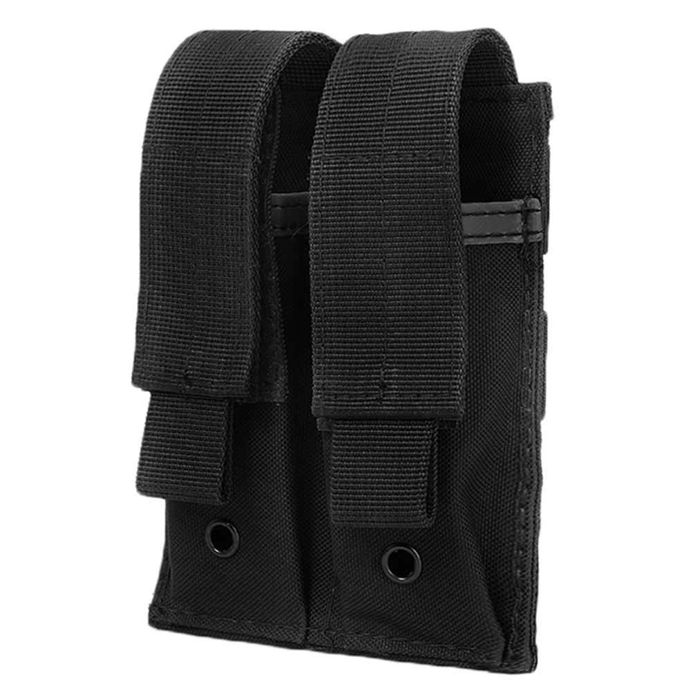 Tactical Molle Pouch 600D Military Ammo Carrier Magazine Pouch Double Pocket Flashlight Holster Accessory Bag for Vest Belt