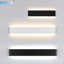 Modern Led Wall Lighting fixture for bathroom wall light Bedroom bedside Wall lamps bathroom mirror light Black/White Waterproof neo gleam bedroom bathroom led mirror light ac110 240v white black gold wall lamps aluminum modern makeup mirror lights