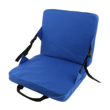 Rocking Chair Cushions Outdoor Folding Fishing Seat And Back Pad For Car Stadium Padding