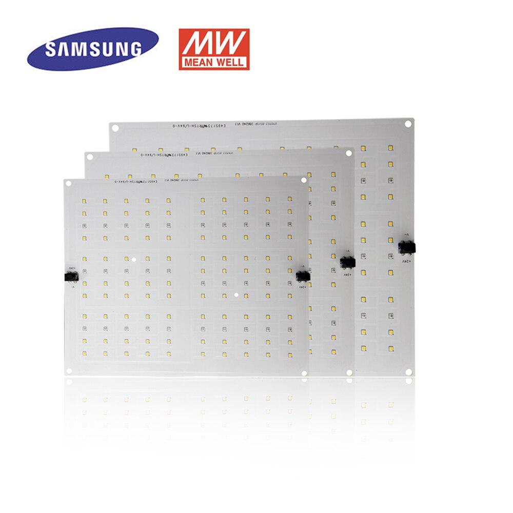 65W Led Grow Light Quantum Board Full Spectrum Samsung LM301B/LM561C S6 3000K/3500K Meanwell Driver DIY LED Plant Grow Light