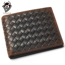 Genuine Leather Wallet With Card Page Credit Card Crazy Hors