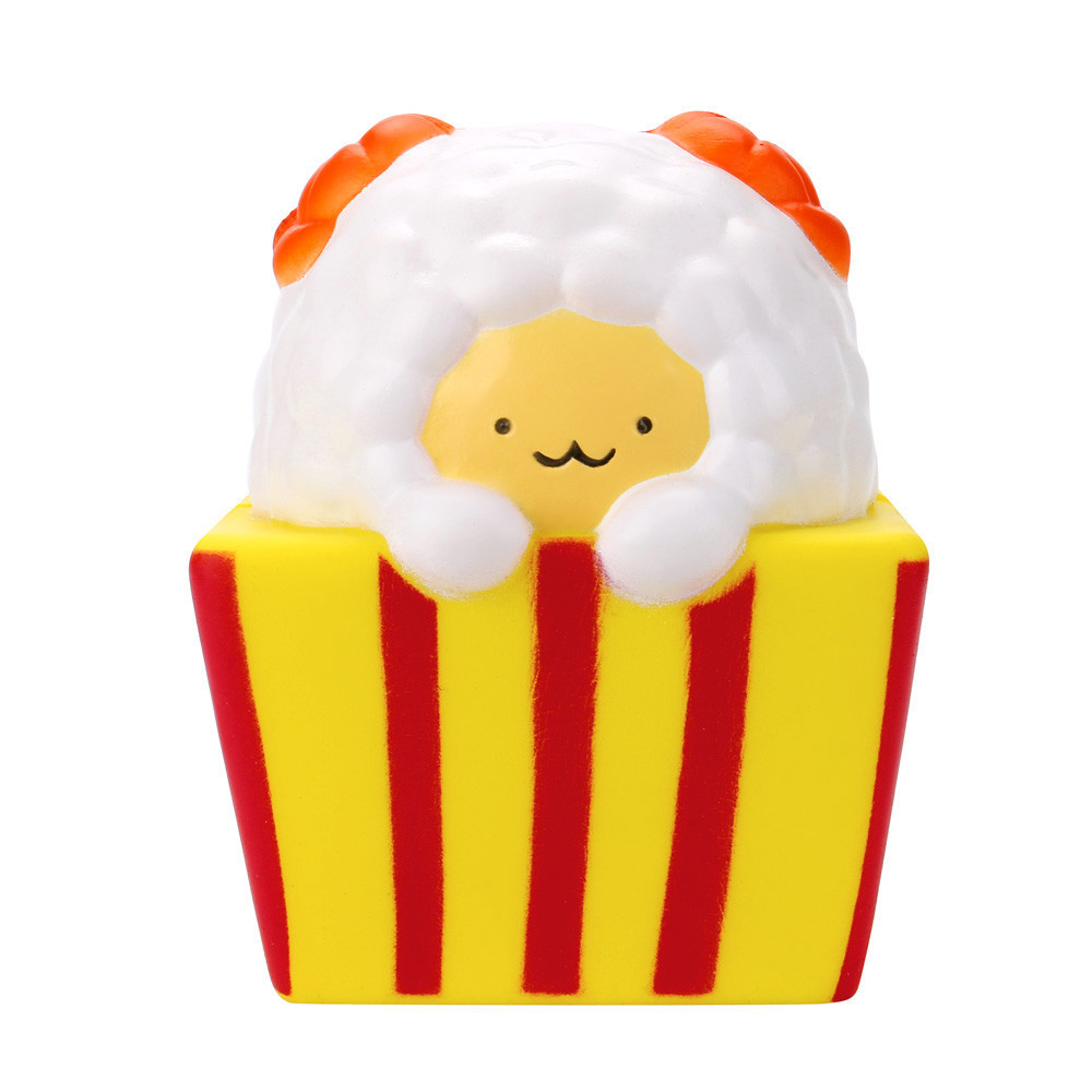 Squeeze Cute Sheep Scented Slow Rising Kids Toy Cute Animal Decompression Slow Rebound Toy Antistress Chil Toys #B