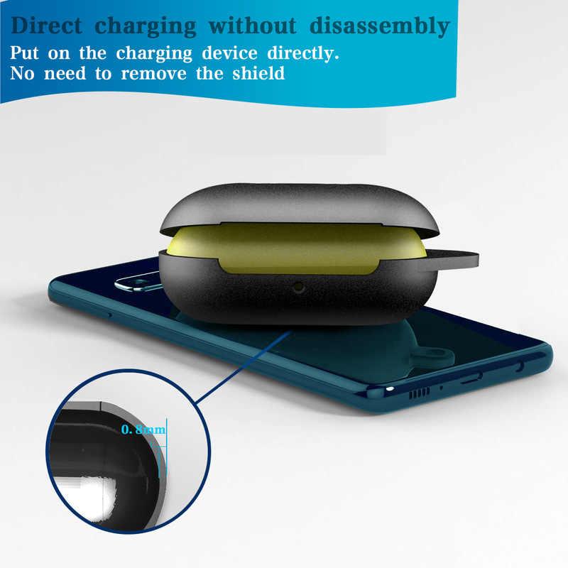 Mới Nhất Chống Sốc Dẻo Ốp Lưng Silicon Tai Nghe Chụp Tai Túi Chống Bụi Bảo Vệ Cho Samsung Galaxy Nụ Tai Nghe Bluetooth Chụp Tai