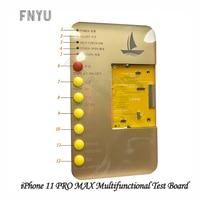 DL-100 inteligente multifuncional placa de teste para iphone 11 pro max tela flip display tela toque ferramentas reparo placa teste