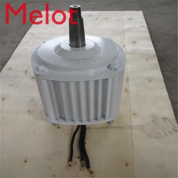 цена на 2.5KW/2500W 96V/220V/380V 350RPM low rpm horizontal wind & hydro alternator/ permanent magnet water power dynamotor turbine