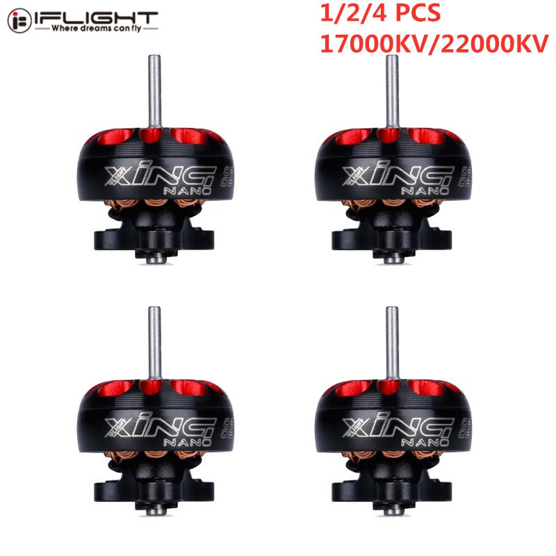 Hot Sale iFlight Brushless Motor XING 0802 22000/17000KV 1-2S 1mm Shaft Motor for RC Drone FPV Racing Multirotor Parts Accs image