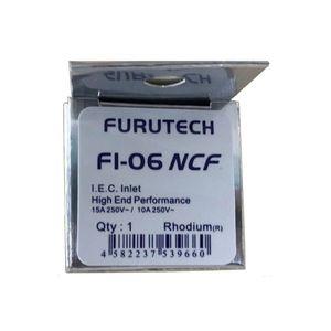 Image 4 - Furutech FI 06 NCF (R)  ננו קריסטל נוסחה נחושת רודיום מצופה אולטימטיבי IEC מפרצון מותג HiFi מקורי תוצרת יפן