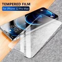 2.5D 9H Protector de pantalla de cristal templado para el iPhone 6 6S 5S 7 8 11 Pro 12 XR XS Max templado Glas para iPhone 13 Pro Max 7 de vidrio