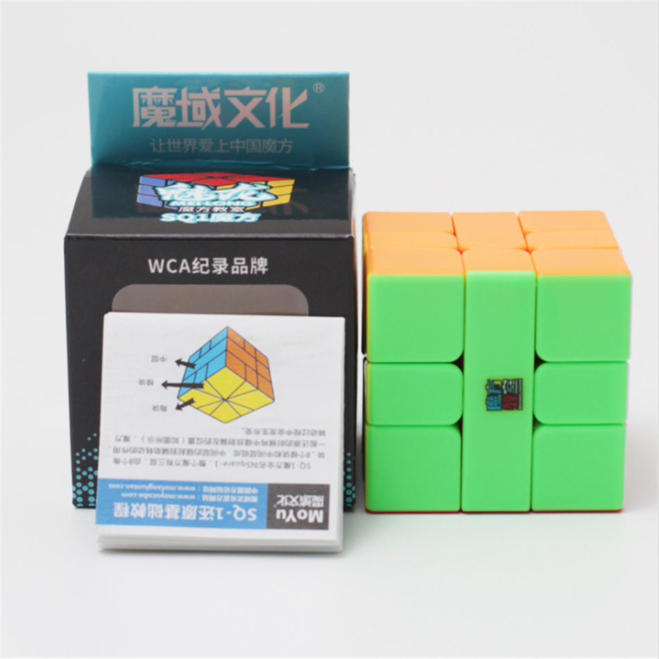 MoYu MeiLong Cubing Classroom SQ1 Magic Cube Colorful Cubo Magico Puzzle Education Toys For Children For Adults