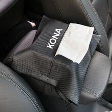Tissue-Box Car-Armrest-Box Car-Interior-Accessories for Hyundai Kona High-Quality Stylish