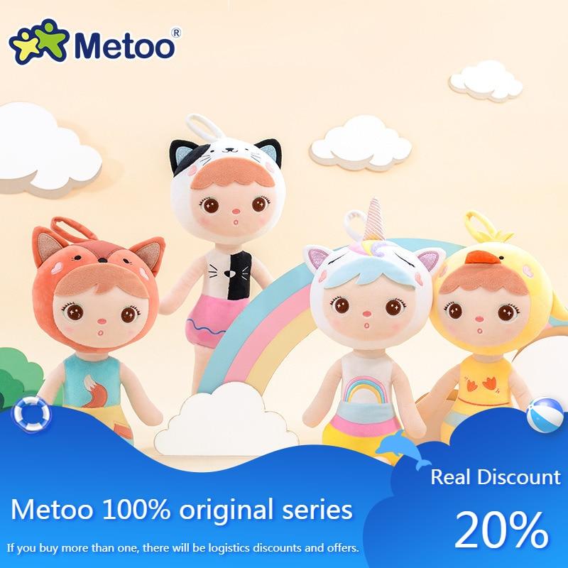 Плюшевая мягкая набивная кукла Metoo Единорог Keppel Angela Русалка Кукла, детская игрушка коала Китти милые украшения игрушки для детей девочек