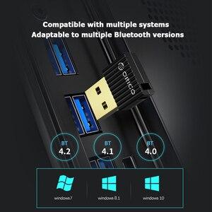 ORICO Mini USB Bluetooth 5,0 адаптер компьютер ПК мышь клавиатура динамик музыка беспроводной приемник ключа