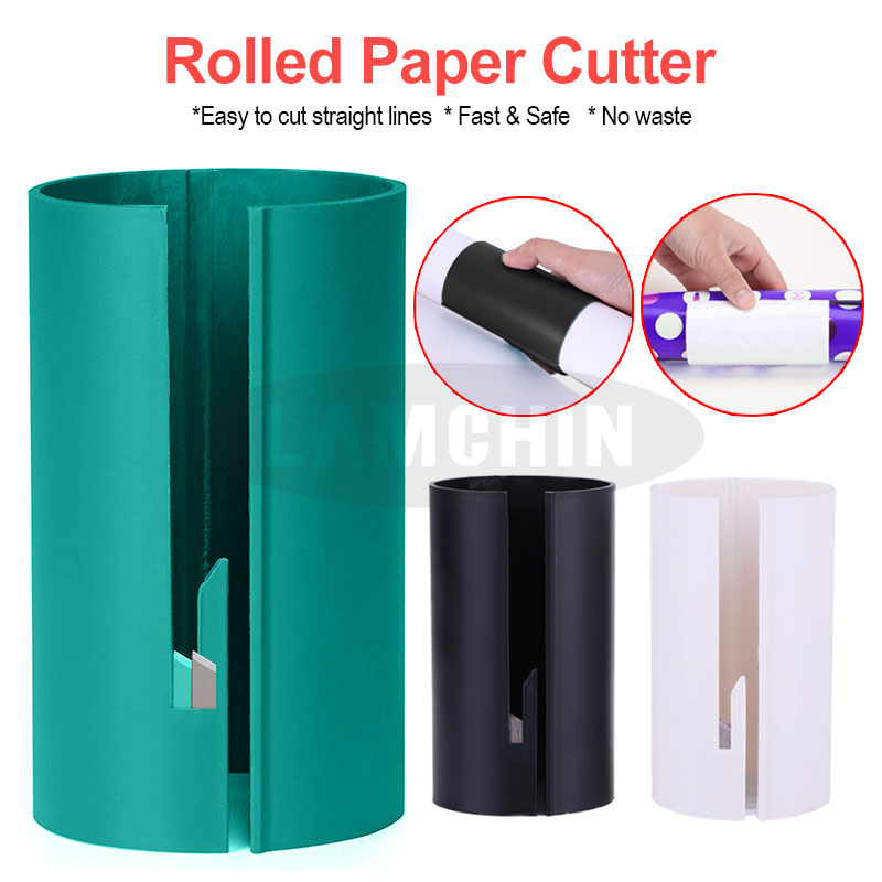 Wrapping Paper Cutter Christmas Wrapping Paper Cutting Tools Gift Wrapping Paper Cutting Cutter Rolled Paper Cutting Device