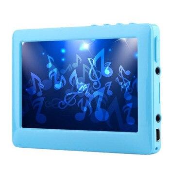 4.3 Cal HD Touch Screen cyfrowy odtwarzacz MP5 8GB wbudowany głośnik odtwarzacz MP3 obsługa TV Out Recorder E-Book 30 języków, gniazdo TF