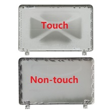 New Laptop LCD Back Cover For HP Pavilion 15 P 15 P066US 15 P000 Silver Non touch 762508 001/with touch
