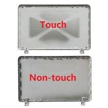 Novo portátil lcd capa traseira para hp pavilion 15 p 15 p066us 15 p000 prata non touch 762508 001/com toque