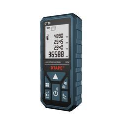 DTAPE laser distance meter 50M 100M rangefinder laser tape range finder build measure device ruler test tools