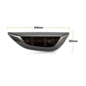 Image 4 - Для Opel Mokka, для Opel Mokka X, для Chevrolet Trax, светодиодный динамический боковой габаритный светильник, последовательный мигалка, светильник для указателей поворота, лампы