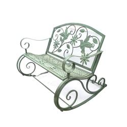 Amerykańska sztuka żelaza retro odkryty fotel bujany ławka dziedziniec stół i krzesło park krzesło dziedziniec wypoczynek dekoracji| |   -