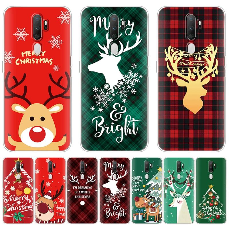 Рождественские Носки с рисунком героев из мультфильмов и изображением оленя чехол для OPPO Realme X50 5i 5 6 iPad Pro Рино 2 F Z 3 A5S A3S A39 A57 A33S A77 A92 A52 A31 A8 A9 A5 2020 Coque|Специальные чехлы|   | АлиЭкспресс