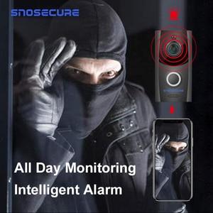 Image 4 - SNOSECURE กันน้ำโทรวิดีโอ WiFi Doorbell Intercom ALARM บ้านไร้สายประตูวิดีโอโทรศัพท์สำหรับ Apartment แบตเตอรี่ประตู