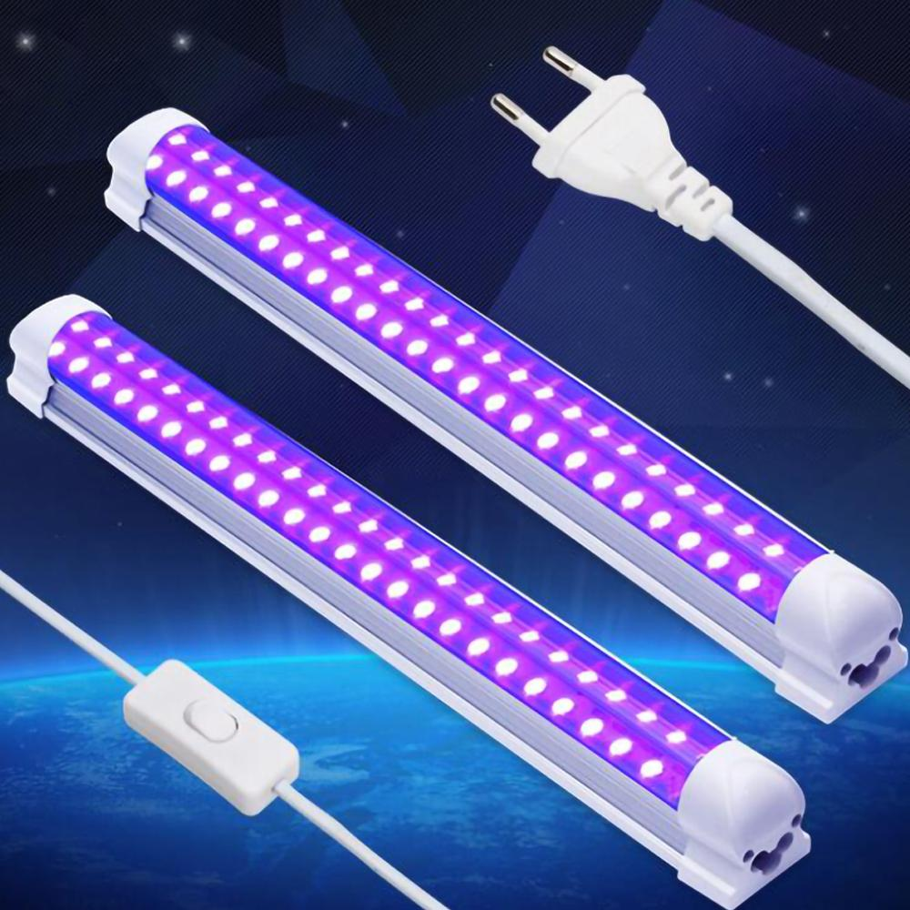 LED Disco Light 10W Stage Light DJ UV Purple Led Tube For Party Christmas Bar Lamp Laser Stage Wall Washer Spot Light Backlight