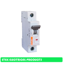 MCB EKM1-63 1P 2P 3P 4P AC C Тип 230/400V~ 50 Гц/60 Гц Мини автомат защити цепи 10A 16A 20A 25A 32A 40A 50A 63A