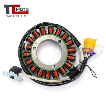 TCMOTO Motorcycle Ignition Magneto Stator Coil For HiSUN 400 HS400 ATV For Coleman Outfitter 400 Engine Coil Parts