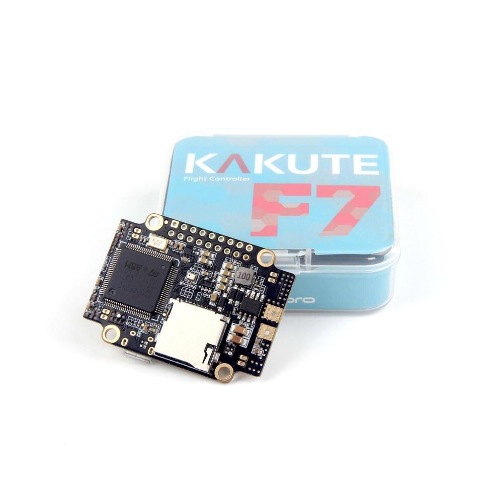 Contrôleur de vol Holybro Kakute F7 AIO STM32F745 de haute qualité avec baromètre de capteur de courant OSD PDB pour Drone RC
