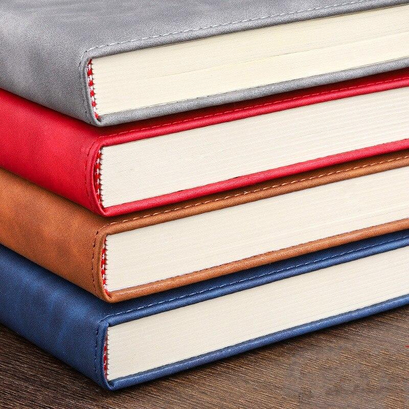 360 страниц супер толстый A5 дневник ежедневный бизнес офисный Рабочий ноутбук простой толстый колледж офисный Дневник Школьные принадлежности 4