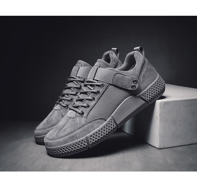 Men's Shoes Summer Trendy Shoes 2019 New Fashion Men's Sports Running Shoes Breathable Autumn Board Shoes