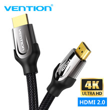 Vention HDMI Cable 4K HDMI to HDMI 2.0 Cable for PS4 PS3 HDTV Splitter Switch Support 4K 3D for PC Laptop Projector Cable HDMI(China)