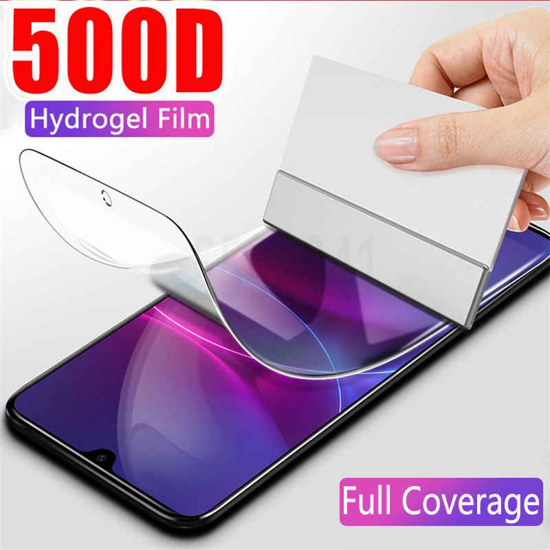 Screen-Protector Hydrogel-Film Not-Glass Full-Cover A20 A71 A10 Samsung Galaxy A51 A80