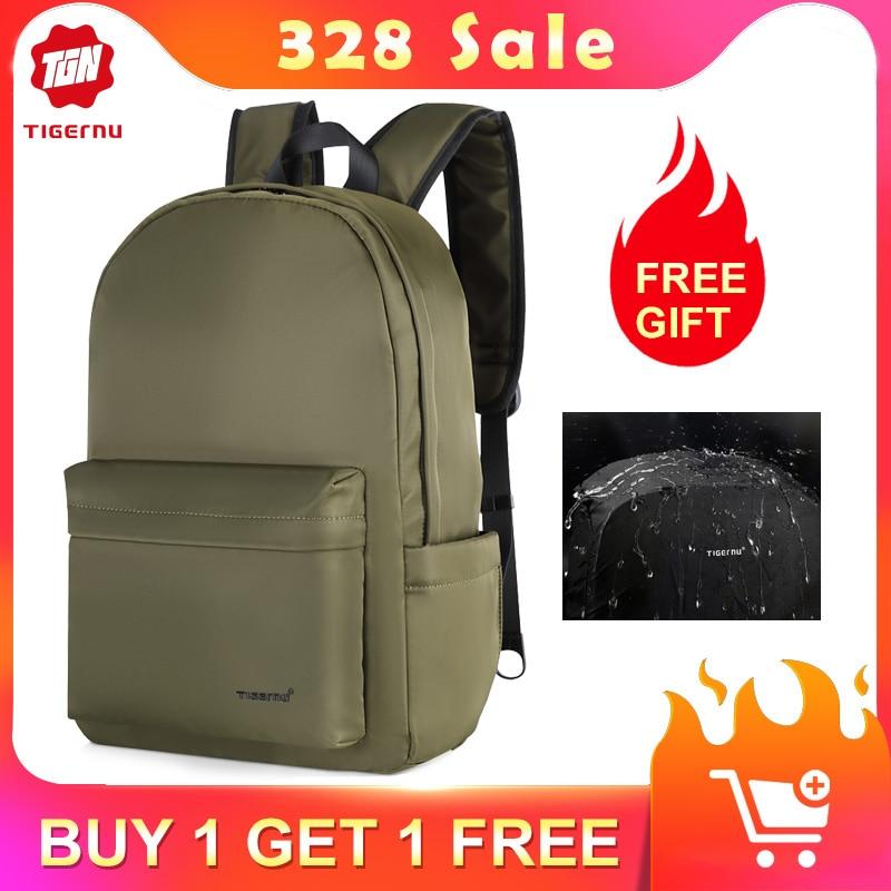 Tigernu 2020 New Arrival Waterproof TPU Fashion Men Backpacks 15.6 Inch Laptop School Backpack Bags Light Weight Backbags Female