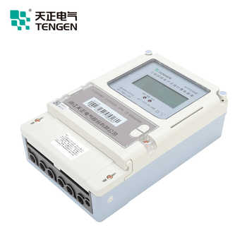 TENGEN New Structure DTSY256 3*220/380V 10(40)A class1.0 LCD with Infrared function and RS485 3 phase electric meter - DISCOUNT ITEM  3 OFF Tools