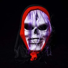 Halloween Skull Mask Party Decoration Props Screaming Devil Masks Cosplay Face Scary Ghost