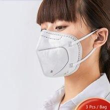Одноразовый Респиратор рот крышка 4 Слои для обеспечения защиты изделия из дышащего материала дымки маски, способный преодолевать Броды дл...