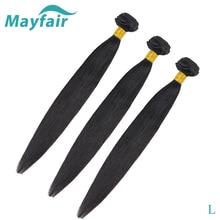 Mayfair Straight Hair Bundles 100% Human Hair Bundles L Non-