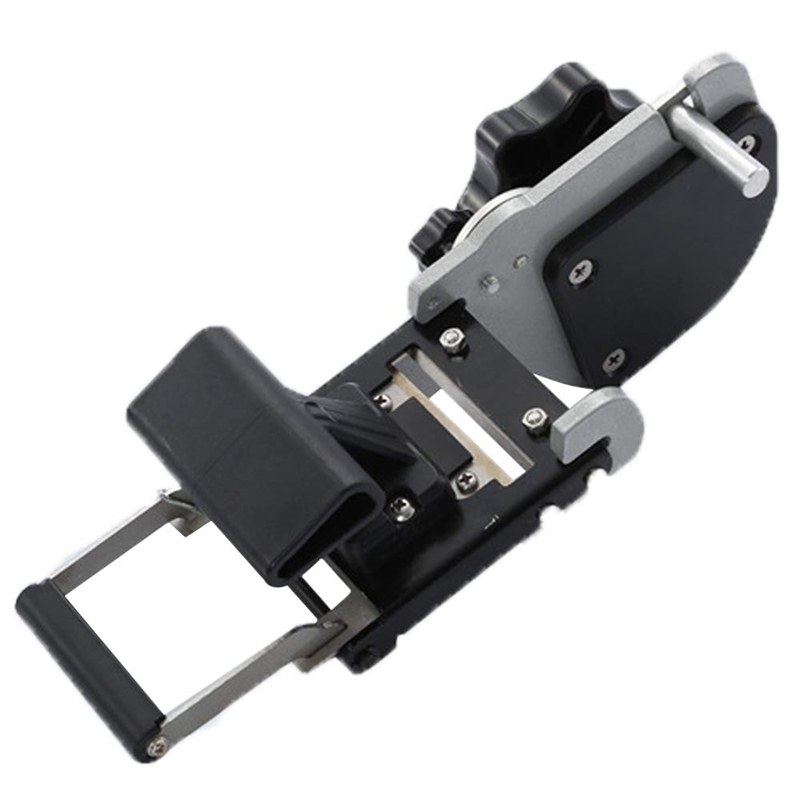 JB32S Straight Round Manual Hand End Trimmer Cutting Machine For Melamine Paper Veneer Plastic Pvc End Trimming Cutter