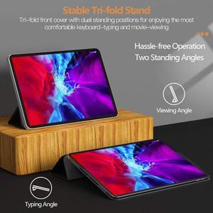 Image 5 - Dành Cho iPad Pro 11 Ốp Lưng 2020 Cho iPad Pro 12.9 2020 2018 Không Khí 4 10.9 Funda Từ Bao Da Thông Minh dành Cho iPad Pro 2020 Ốp Lưng Coque