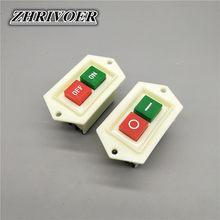 1 sztuk LC3-5 LC3-10 Start Stop przełącznik wciskany on/off 10A/380V stół wiertarko-szlifierka przełącznik maszyny do cięcia