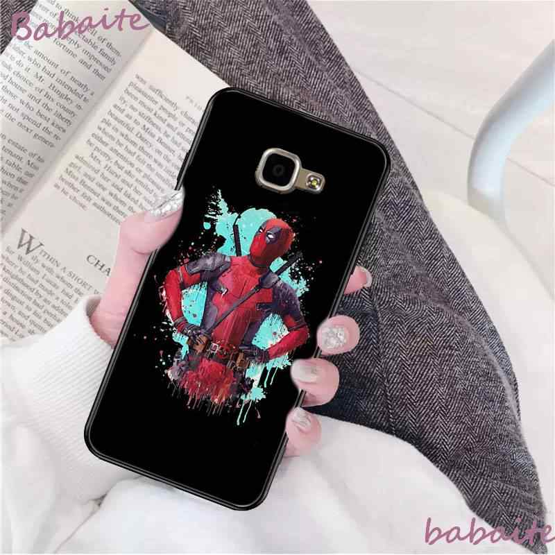 Babaite Marvel Act Swimming Pool Deadpool Pattern TPU Soft PhoneCase for Samsung A8Plus 2018 9S 920 10S 20S 10 40 20 30 50 Coque